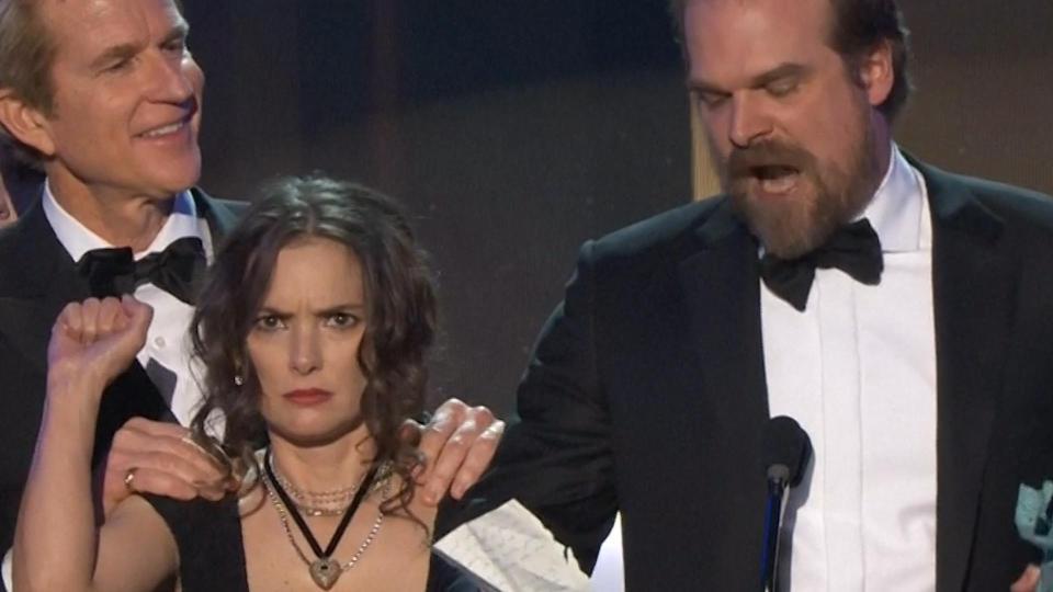 Screen Actors Guild Awards Movie Grapevine
